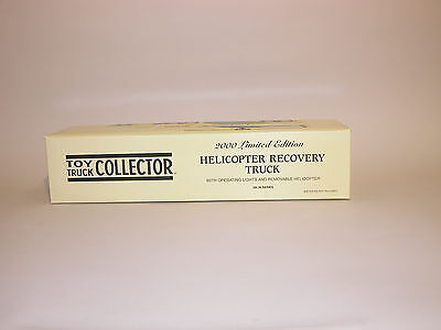 2000 Toy Truck Collector Helicopter Recovery Truck 5Th In Series China