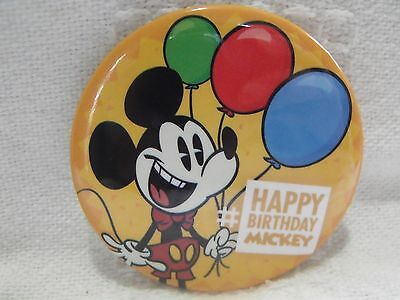 Happy Birthday Button (Disney Parks 3