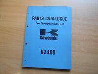 Manuale Officina Pezzo Catalogo Catalogo Ricambi Kawasaki Kz 400 -  - ebay.it