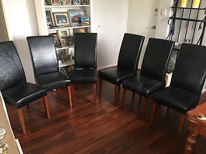 High back leather chairs South Perth South Perth Area Preview