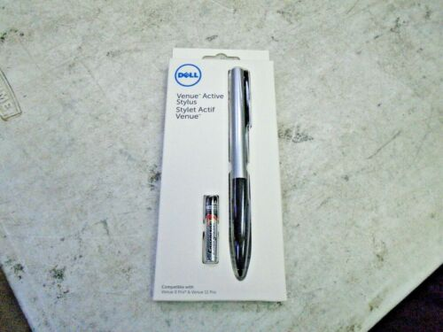 New OEM Dell Venue Pro 8 & Venue Pro 11 Active Stylus Pen Black/Silver RTMND