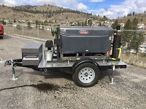 Lincoln 300D Welder and Skid on Trailer