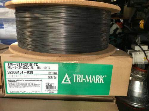 33 lb Tri-mark .052 welding wire