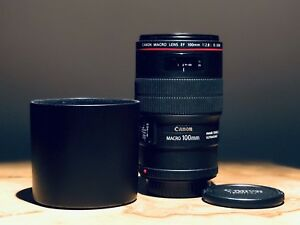 Canon 100mm f2.8 L IS USM