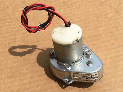 Crouzet 82704.2 Gear Motor 120rpm- 4mm Shaft Japan Servo 12 Volt Dc Dme 33b07-04