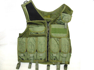 Eagle Industries TAC-V1-N-A-OD Load Bearing Vest Size M for sale  Shipping to Canada