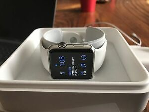 Apple Watch 42mm stainless steel + Apple Care