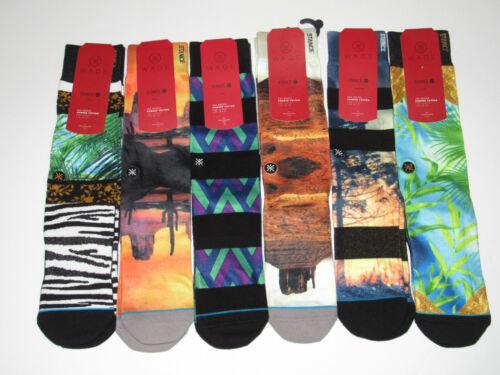 Stance D Wade Collection Light Cushion Socks Mens L/XL (9-13)NWT 6 Pair Bundle