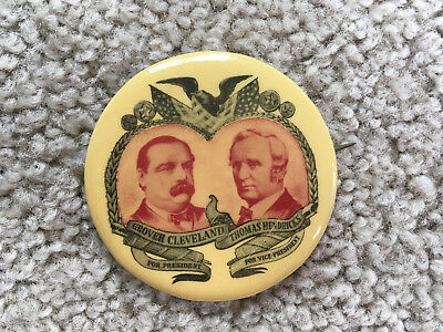1967 Pinback Button CLEVELAND HENDRICHS for President 2