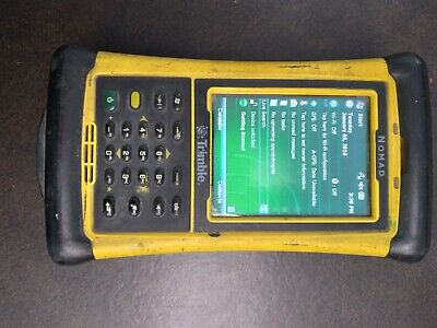 Trimble Nomad Data Collector Good Condition No Charger