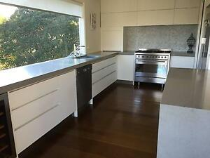 Contemporary kitchen cabinets and benches Mount Eliza Mornington Peninsula Preview