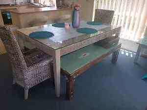 Whicker dining table Coomera Gold Coast North Preview