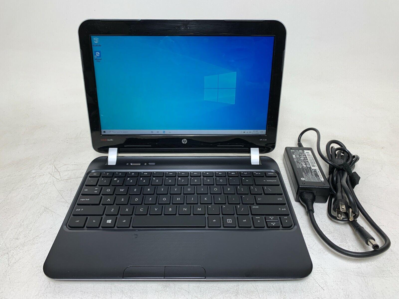 "Laptop Windows - HP 3125m 11.6"" Laptop | AMD E-1500 1.48GHz | 4GB RAM | 320GB HDD | Windows 10"