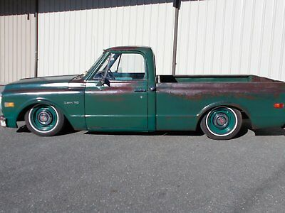 1971 CHEVROLET C10 SHORTBED AIR RIDE PATINA SHOP TRUCK 1967 1968 1969 1970 1972