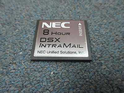Nec Dsx 40 80 160 1091060 V2.2.1a G Intramail 2 Port 8 Hour Flash Voice Mail