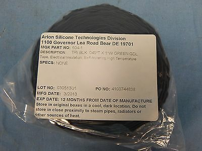New Silicone Technologies 604-1 Tri Black 040t X 1 Guideline Mox-tape