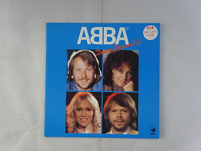 ABBA Disco Special-2 Discomate DSP-3025 Japan BLUE WAX  LP