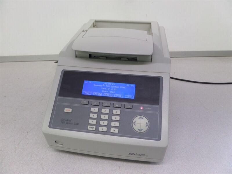 ABI Applied Biosystem GeneAmp PCR 9700 Thermocycler 96 Well