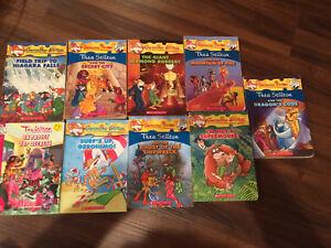 9 Geronimo Stilton books!