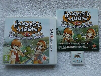 Usado, HARVEST MOON 3D THE TALE OF TWO TOWNS NINTENDO 3DS V.G.C. ( simulation & RPG ) comprar usado  Enviando para Brazil