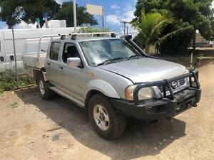 WRECKING 2006 NISSAN NAVARA D22 4X4 DUAL CAB ZD30 DIESEL MANUAL North St Marys Penrith Area Preview