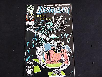 Deathlok #4 (Oct 1991 Marvel)