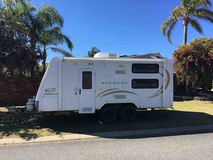 2010 Jayco 18.5 with toilet and full annex (Available Jan 2018)