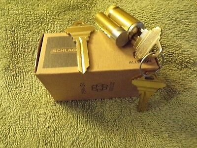 Oem Schlage Removable Lock Cylinder Core F Keyway 1 Bitted 1 Control Key