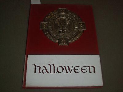 1965 HALLOWEEN ALL HALLOWS INSTITUTE YEARBOOK - BRONX, NEW YORK - YB - College University Halloween