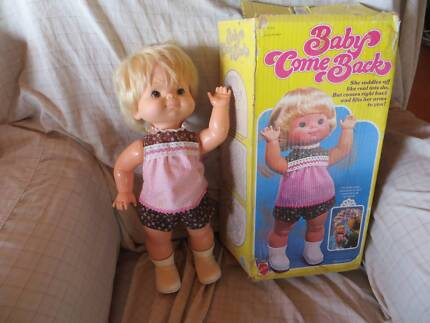 Babies Dolls Games Doll 1976 Mattel,baby Come