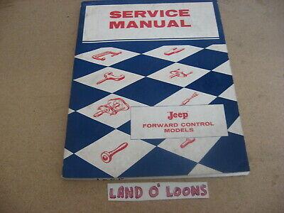 1958 (1959-1964) JEEP FC-150/170 Forward Control Shop/Service manual