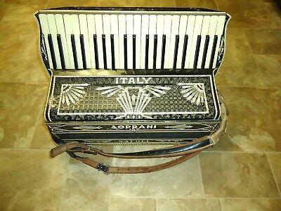 Vintage Soprani Inc  Italy Napoli Accordion in Original Case