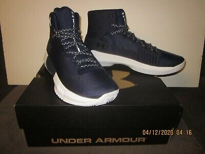 UNDER ARMOUR DRIVE 4 TB BASKETBALL SHOES/SNEAKERS NAVY 1303010-403 SIZE 12 w/BOX