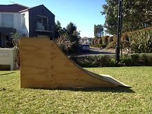 Quarter pipe skateboard ramp Belrose Warringah Area Preview