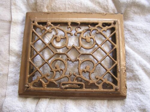 Antique Victorian Ornate  Heat Vent Cover