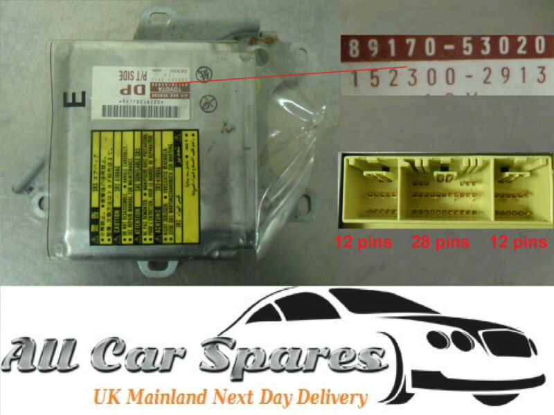 Lexus IS200/IS 200 - Air Bag/Airbag Control Module/Unit - 89170-53020/1523002913