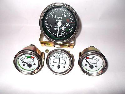 Temp Tachometer Fuel Amp Gauge For Allis Chalmers 170 175 180 185 190 Xt 200 210