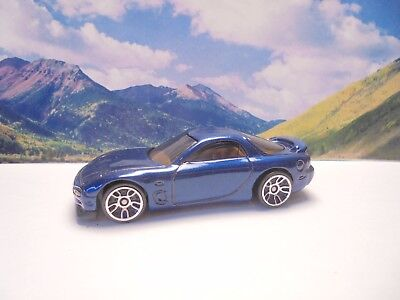 95 MAZDA RX-7   2017 Hot Wheels Then And Now Series    Blue