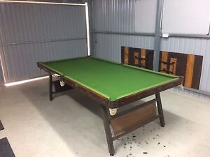 Pool billiard Table - foldup Vintage Magill Campbelltown Area Preview