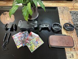 Nintendo Switch Bundle + 36 GAMES!!!!!