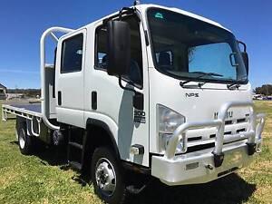 2008 Isuzu NPS 300 4x4 Dualcab Traytop Truck Inverell Inverell Area Preview