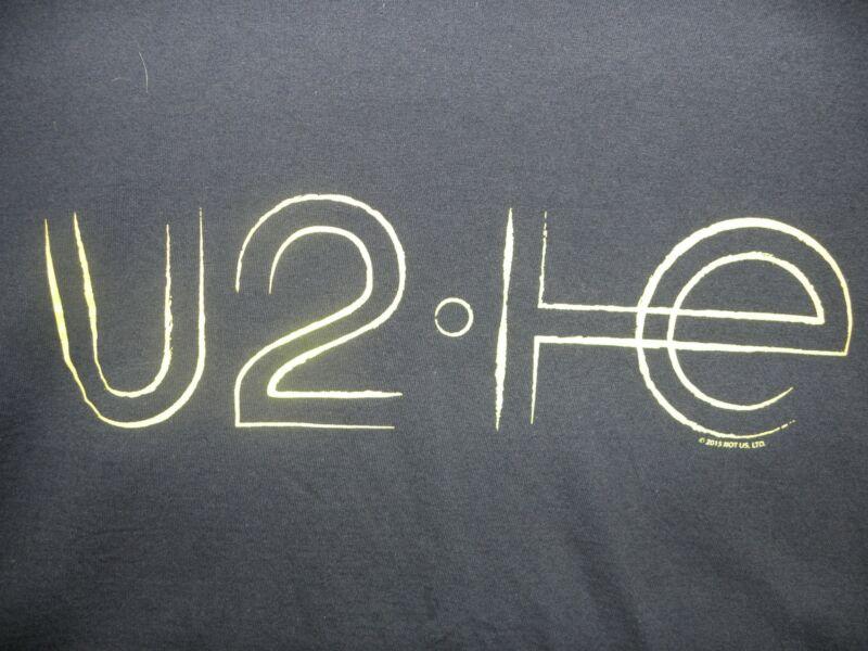 U2 2015 Concert T-Shirt iNNOCENCE and eXPERIENCE World Tour Bono