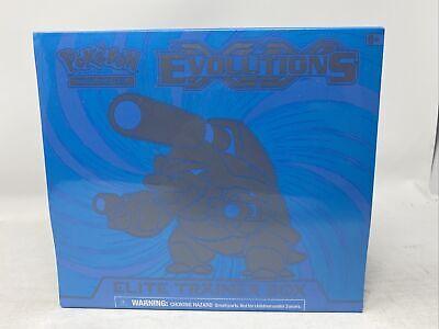 Pokemon XY Evolutions Blastoise Elite Trainer Box ETB Factory Sealed Fast Ship