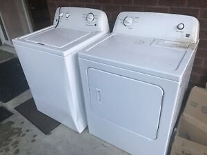 Laveuse et sécheuse Kenmore washer and dryer like new