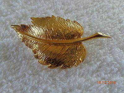 Goldblatt Brosche
