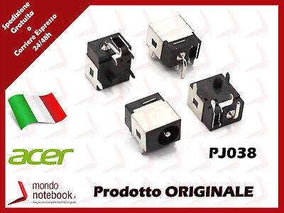 Connettore Alimentazione DC Power Jack PJ038 ACER Aspire 5732Z 5732ZG 5050 5100