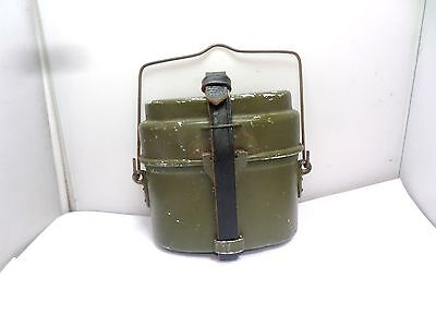 OLD GERMAN ARMY KIDNEY SHAPE TWO PIECE MESS