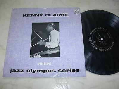 """10"""" KENNY CLARKE Jazz Olympus Series PHILIPS 10"""" MONO B 76413 R *NM* 1958"""