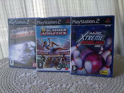 Tres videojuegos deportivos para PlayStation2