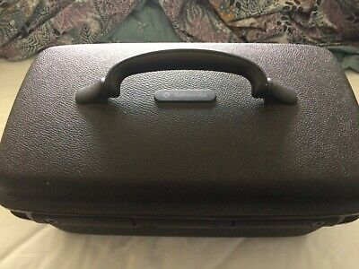 lovely looking barely used super condition samsonite vanity case hard shell keys
